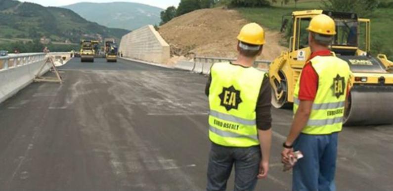 Euroasfalt: Počeli radovi u Sloveniji