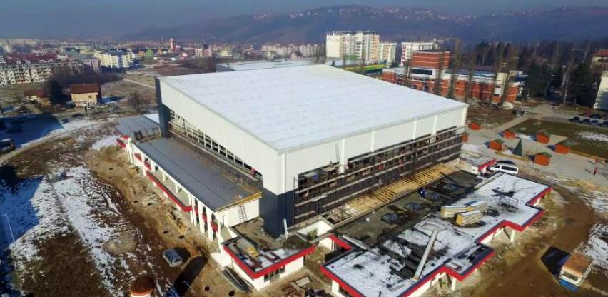 Poziv za izvođače: Za II fazu izgradnje dvorane u Istočnom Sarajevu 3 miliona KM