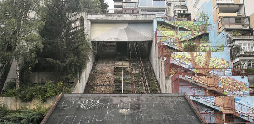Završeni radovi na demontaži konstrukcije kosog lifta na Ciglanama