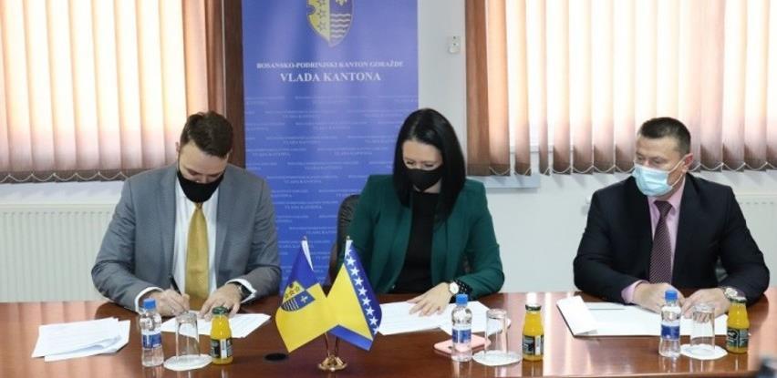 Vlada BPK finansira projekt rekonstrukcije cjevovoda u Gradu Goražde