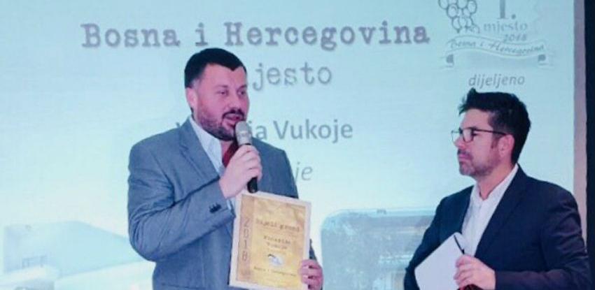Bijeli Grozd: Podrumi Vukoje 1982 treći put najbolji