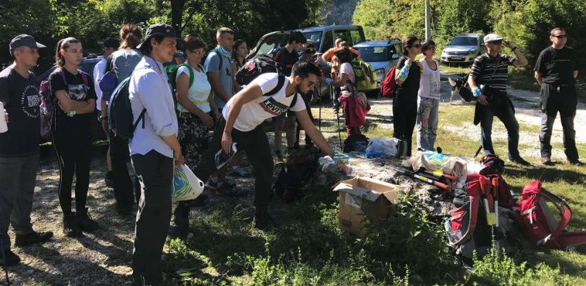 Volonteri podržali akciju održavanja Via Dinarica staze na Čvrsnici