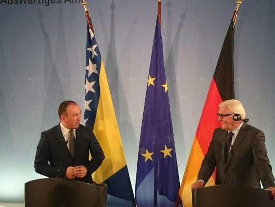 Njemačka podržava BiH na europskom putu i provedbi reformske agende