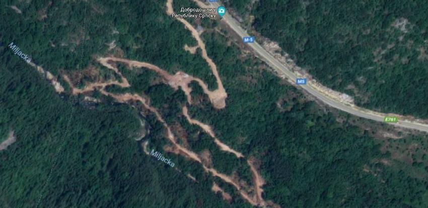 Hidroelektrana na Miljacki: Gradnja će definitivno da naruši ovo područje