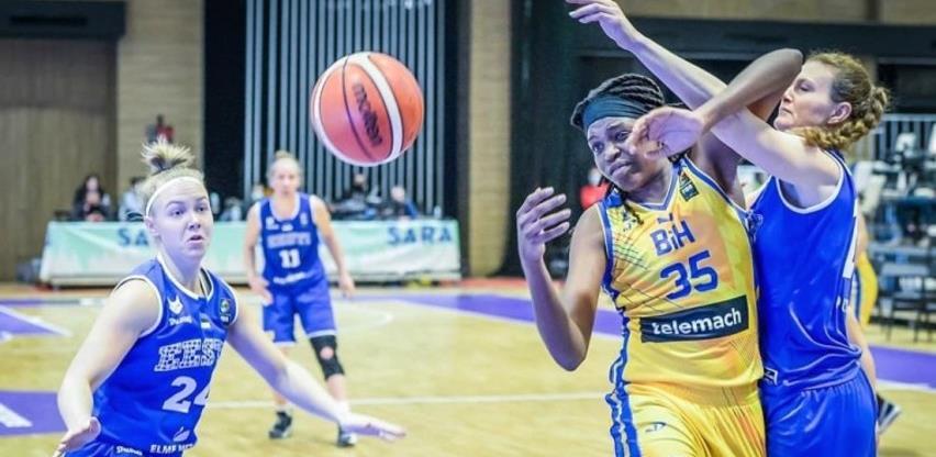 Ubjedljiv trijumf košarkašica BiH nad Estonijom