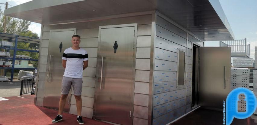 Cromex-ove vandal proof toalete prva kupila općina Cazin
