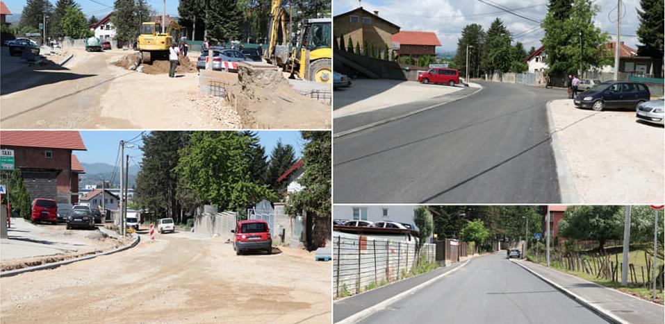 Završeni značajni projekti u cestovnoj infrastrukturi Vogošće, Novog Grada i Ilijaša