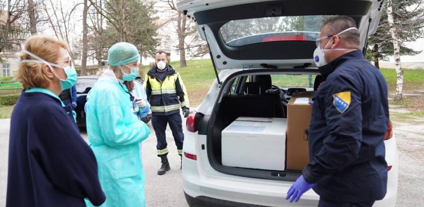 Uručeni novi testovi na koronavirus za KCUS i SKBM