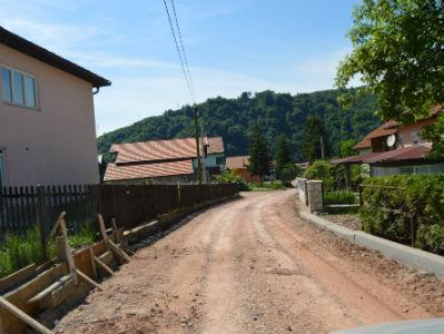Općina Visoko: Rekonstrukcija puta u MZ Gračanica