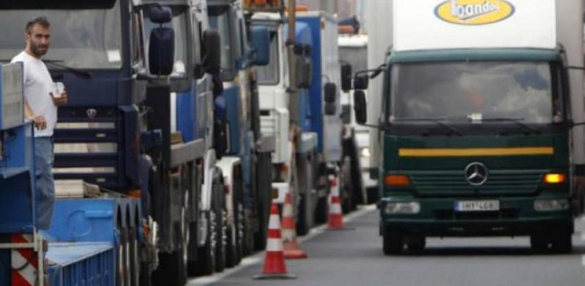Hrvatska ne dozvoljava prolaz kamionima iz Republike Srpske
