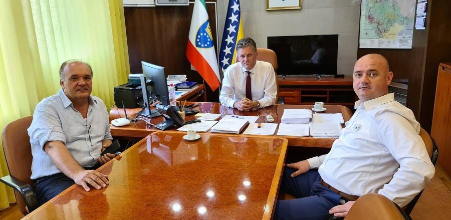 Premijer ZDK Mirnes Bašić najavio podršku Sajmu privrede Tešanj