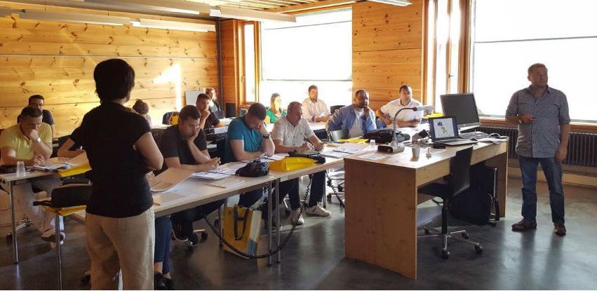 Predstavnici drvnog sektora na profesionalnoj obuci u Švicarskoj
