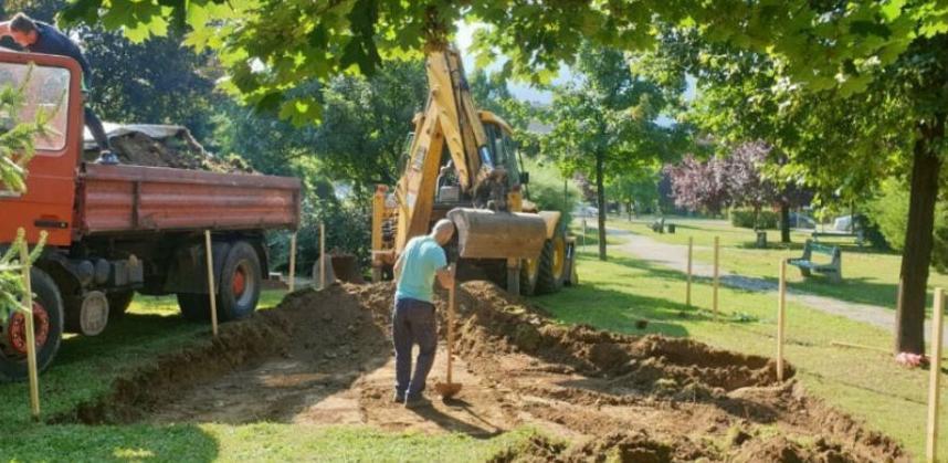 Započela izgradnja prvog street workout parka u Centru