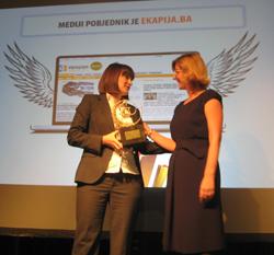 WebAward.Me: eKapija najbolja web stranica u kategoriji mediji