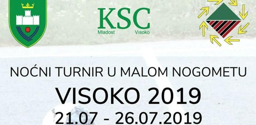 """Od 21. jula počinje noćni turnir u malom nogometu """"Visoko 2019"""""""