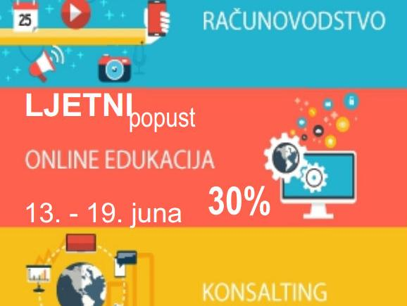 Chronos nagrađuje popustom od 30% na sve ponuđene online edukacije