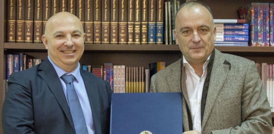 Saradnja AUBIH i Ukrajinskog državnog univerziteta za bankarstvo