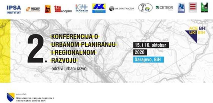 Online Konferencija o urbanom planiranju i regionalnom razvoju 15. i 16. oktobra
