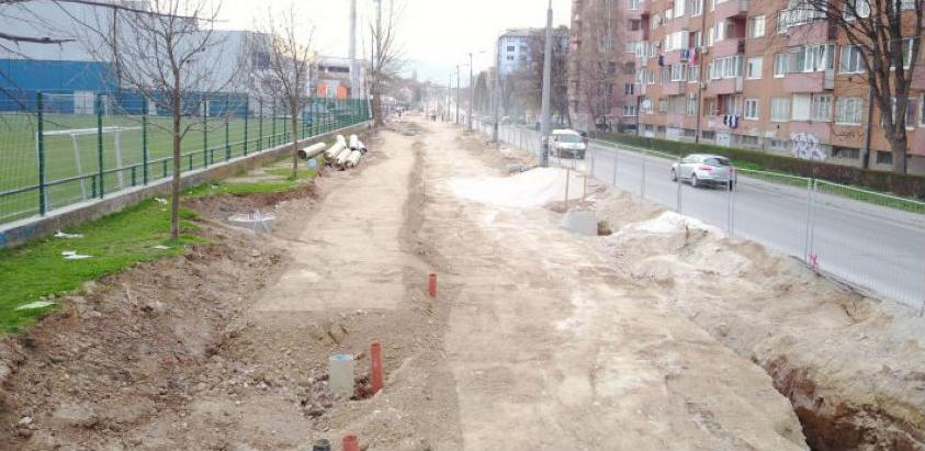 Izgradnja kružnog toka na spoju ulica Hamdije Čemerlića i Zvornička