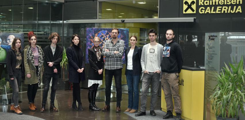 Deseta generacija studenata likovnih umjetnosti izlaže u Raiffeisen galeriji