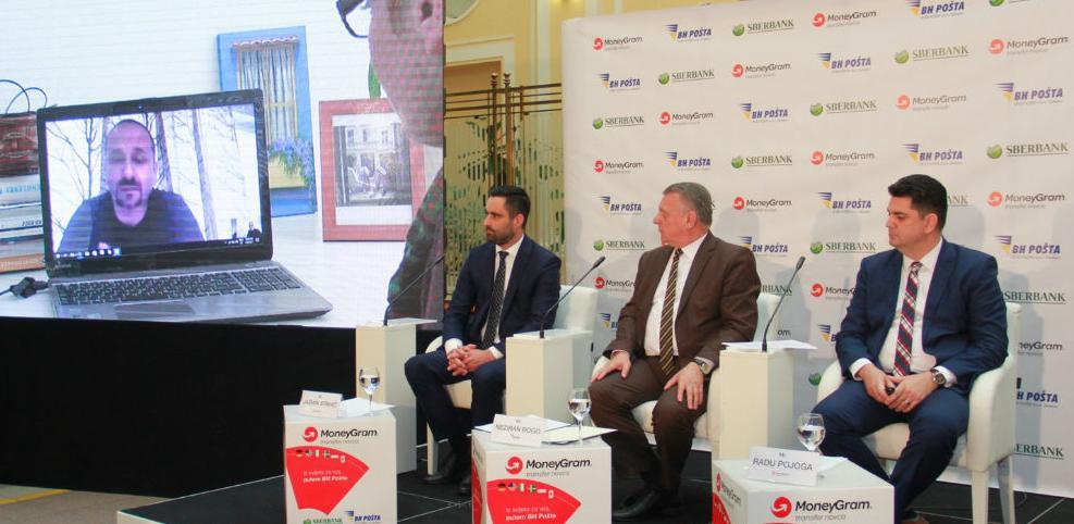 MoneyGram, Sberbank i JP Pošta BH uspostavili partnerstvo u širenju mreže