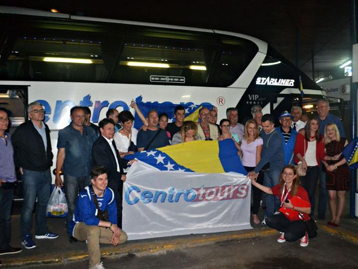 U organizaciji Centrotoursa prvi bh. navijači otputovali u Brazil