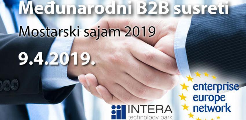 Ostvarite poslovne kontakte na novim međunarodnim B2B susretima u Mostaru