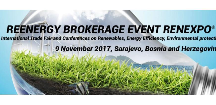 Reenergy Brokerage Event Renexpo BiH 2017