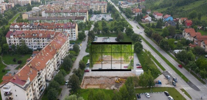 Rješenje problema u Gandijevoj: Izgradnja ogledala u veličini planirane zgrade