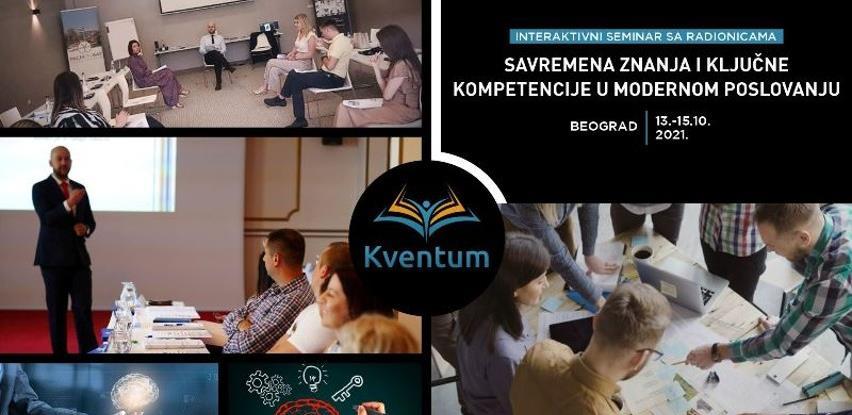 Kventum organizuje seminar: Koordinacija s drugima i konstruktivna saradnja