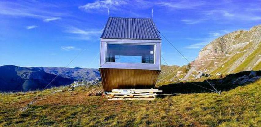 Na Visočici podignut BH Bivak, objekat za sklonište i odmor planinara