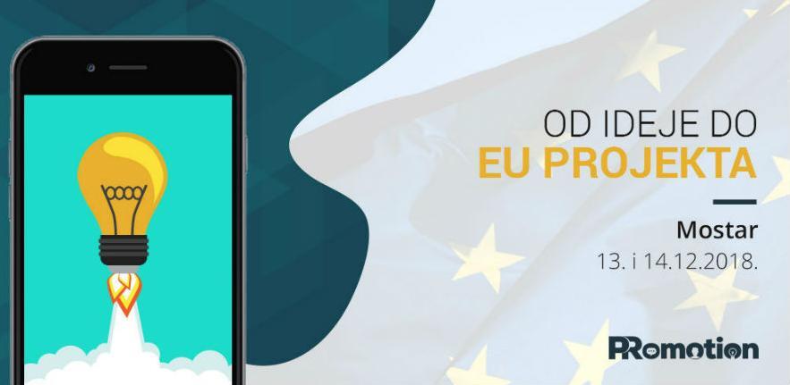 """Iskoristite popust: Prijavite se na radionicu """"Od ideje do EU projekta"""""""