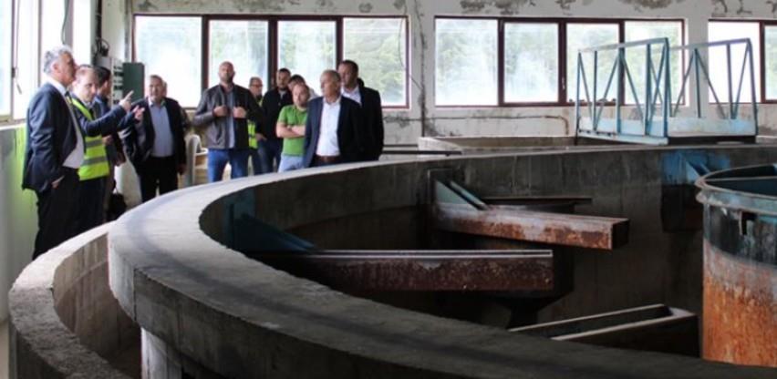 Nevesinje: Ozvaničen početak rekonstrukcije prečistača pitke vode