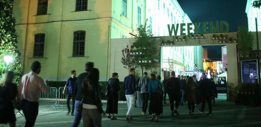 Nastupom belgijskog dua 2manydjs zatvoren 11. Weekend Media Festival