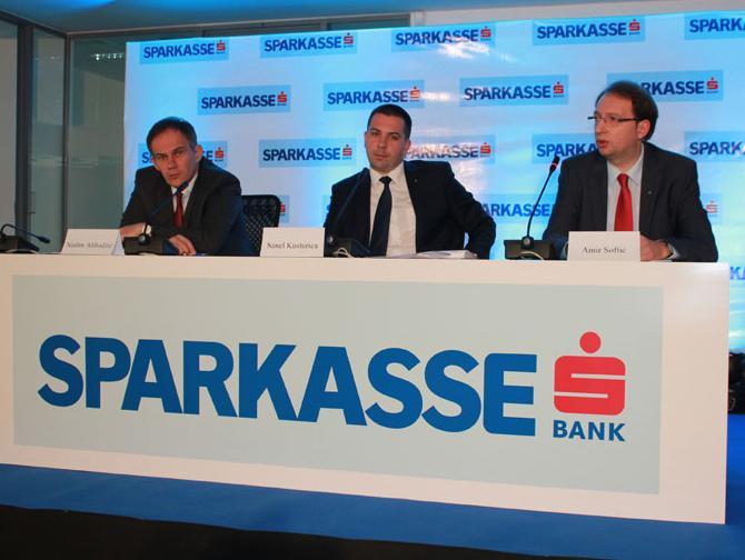 Sparkasse Bank u 2013. ostvarila natprosječan rast svih segmenata