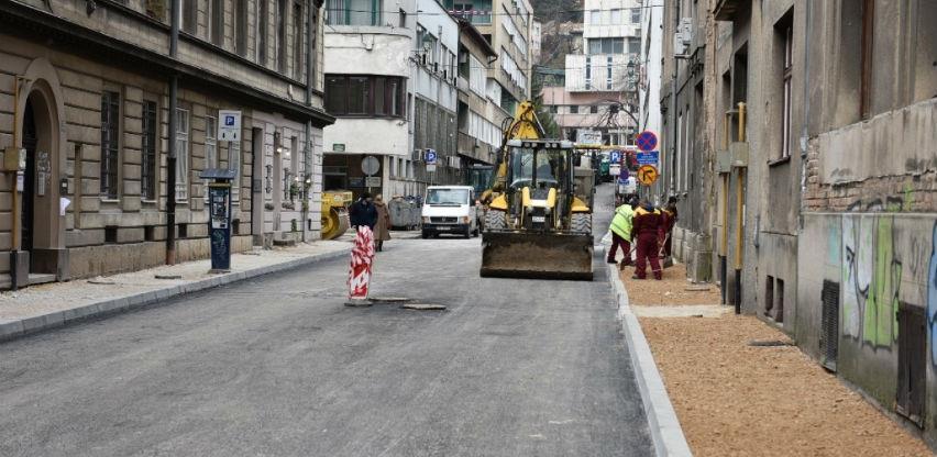 Završni radovi na sanaciji sarajevske Ulice Dolina