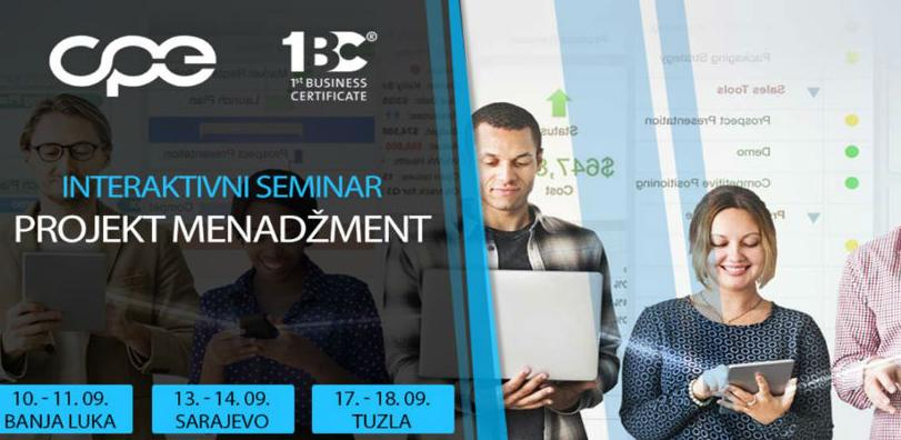 """Projekt menadžment u praksi"" - interaktivni seminar"