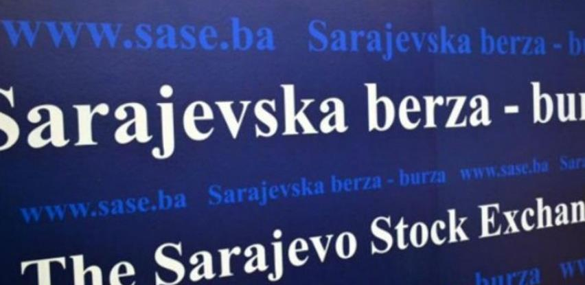U junu na Sarajevskoj berzi promet 119,6 miliona KM