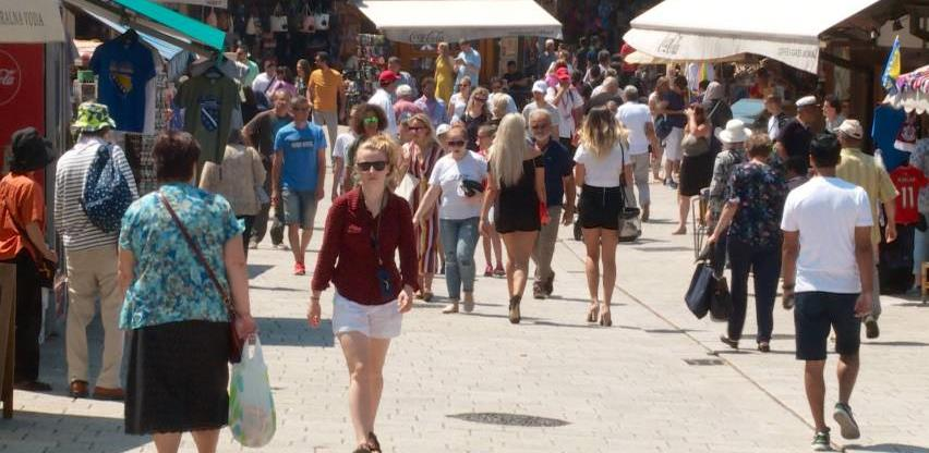 BiH izgubila pola miliona turista