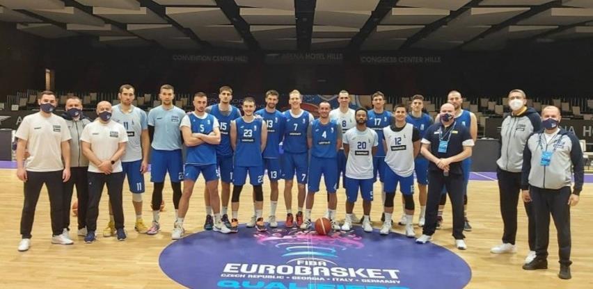 Košarkaši BiH večeras protiv Bugarske