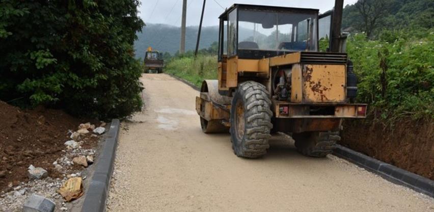 Nastavak radova na izgradnji sekundarne saobraćajnice na grobljima Visoko