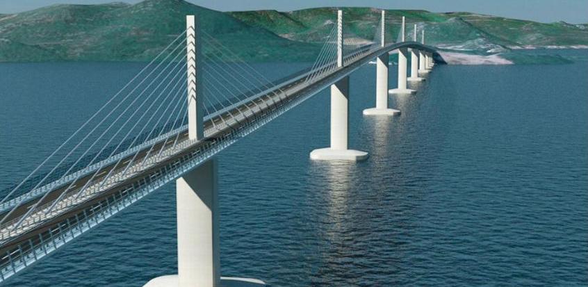 Kineski konzorcij izvodit će prvu fazu izgradnje Pelješkog mosta