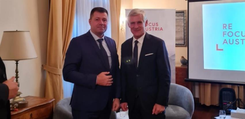 Novi šef austrijske diplomatije dao punu podršku poslovnim zajednicama Austrije i BiH