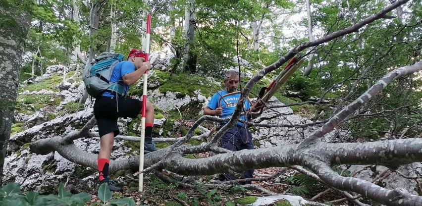 Očišćena i markirana nova staza na planini Prenj