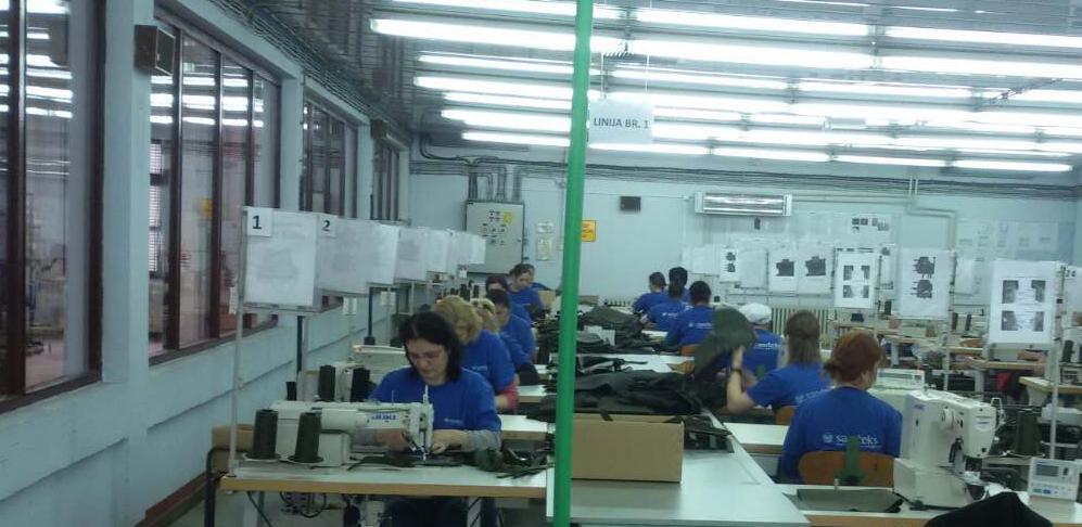U Bužimu se proizvode vojno zaštitna odijela za vodeći brend u ovoj oblasti