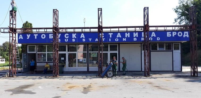 Radovi na uređenju autobuske stanice u Brodu teku po planu