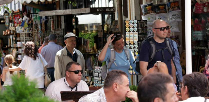 U martu u BiH blizu 100 hiljada turista i 200 hiljada noćenja