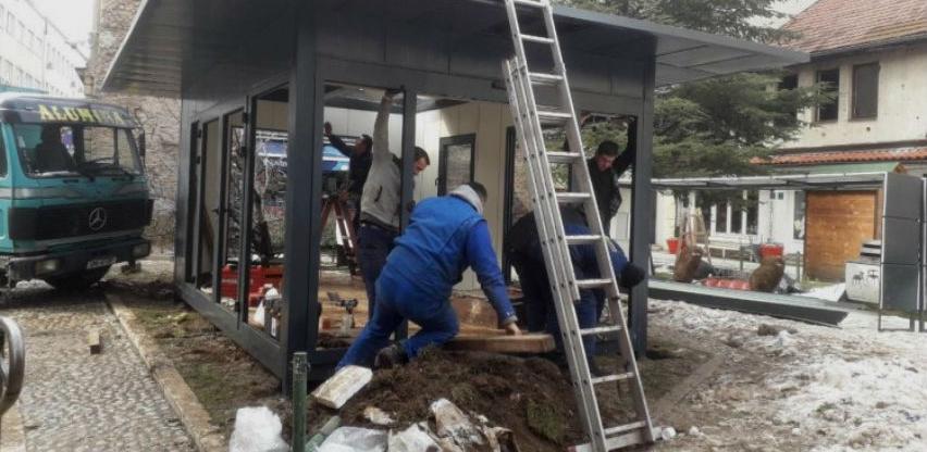Počela gradnja prvog informativnog centra Turističke zajednice Kantona Sarajevo