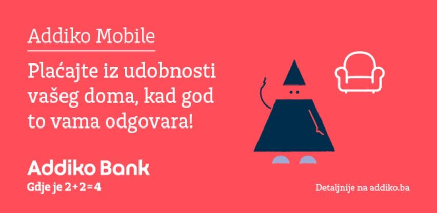 Porast broj transakcija putem Addiko Mobile usluge za oko 29 posto