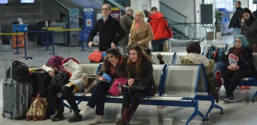 Aerodrom Sarajevo: Putnici obavezni posjedovati dokumente o potvrdi putovanja